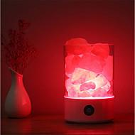 billige -1pc Natlys / Dekorations Lys Usb Kreativ / Farveskiftende / bedside <=36 V