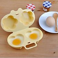 billige -PP (Polypropen) Gjør Det Selv Støpeform Varmebestandig Bedårende Kjøkkenredskaper Verktøy for Egg 1pc