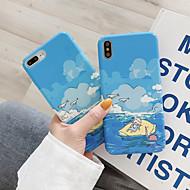 tanie -etui na telefony komórkowe w kolorze niebieskiego nieba i białych chmur są odpowiednie dla iphone6 / 6s / 6splus / 7 / 7plus / 8 / 8plus / x / xr / xs / xsmax