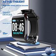 お買い得  -ky117スマートウォッチbtフィットネストラッカーサポート通知&心拍数モニターフルスクリーンスマートウォッチandroid携帯電話&iphone