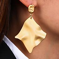 levne -Dámské Peckové náušnice Visací náušnice Náušnice Evropský Moderní Módní Šperky Zlatá Pro Párty Denní Street Práce 1 Pair