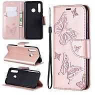 pouzdro na jablko iphone xs max / iphone x se stojánkem / peněženkou / držákem na karty celotělové pouzdro motýl / pevné barevné tvrdé / 6plus / 6s plus / 7/8/7 plus / 8 plus / x / xs / xr / xs max