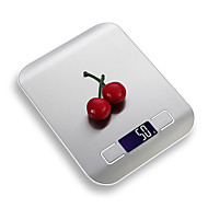 cheap -5kg Digital Kitchen Scale 5000g/5g LCD Ultra Slim Stainless Steel Platform Food Weighing Scales Backlit Cooking Measure Tools