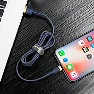 abordables -baseus type-c cable 1.0m (3ft) tresse / charge rapide adaptateur nylon / tpe câble usb pour xiaomi / huawei / samsung