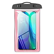 olcso -Case Kompatibilitás Apple Univerzalno Vízálló Vízálló erszény Egyszínű Puha PVC mert Univerzalno