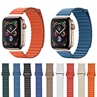 economico -cinturino per cinturino in pelle apple watch serie 4/3/2/1 in pelle mela