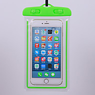 abordables -étui pour apple universal transparent / résistant à l'eau / pochette imperméable à l'eau imperméable transparent pvc souple pour universal