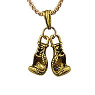 levne -Pánské Náhrdelníky s přívěšky Chrome Zlatá Černá Stříbrná 60 cm Náhrdelníky Šperky 1ks Pro Denní Festival