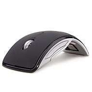 hesapli -Sıcak satış kablosuz fare 2.4g bilgisayar fare katlanabilir katlanır optik fareler dizüstü pc bilgisayar masaüstü ofis için usb alı ...
