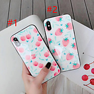 economico -Custodia Per Apple iPhone XS Max / iPhone 6 Fantasia / disegno Per retro Cartoni animati Resistente Vetro temperato per iPhone XS / iPhone XR / iPhone XS Max