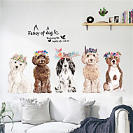cheap -Decorative Wall Stickers - Plane Wall Stickers Animals / Arabesque Bedroom / Indoor