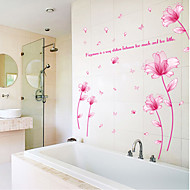 cheap -Decorative Wall Stickers - Plane Wall Stickers Still Life / Floral / Botanical Bedroom / Indoor