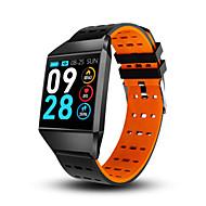 お買い得  -スマートウォッチw1c心拍数モニターフィットネストラッカー腕時計ブルートゥース睡眠モニタースポーツ腕時計用ios android pk fitbits