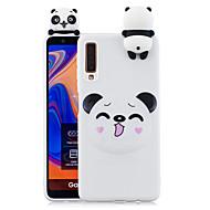 povoljno -Θήκη Za Samsung Galaxy A7 (2018.) Otporno na trešnju / Protiv prašine / Uzorak Stražnja maska Pas / 3D likovi / Panda Mekano TPU za Galaxy A7(2018)