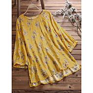 povoljno -Žene Vintage Osnovni A kroj Haljina - Print, Cvjetni print Iznad koljena