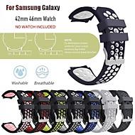 povoljno -Pogledajte Band za Samsung Galaxy Watch 46 / Samsung Galaxy Watch 42 Samsung Galaxy Klasična kopča Silikon Traka za ruku