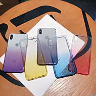 povoljno -Θήκη Za Apple iPhone XS / iPhone XR / iPhone XS Max Protiv prašine / Šljokice Stražnja maska Šljokice / Prijelaz boje TPU