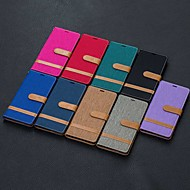 povoljno -Θήκη Za Samsung Galaxy Note 9 / Note 8 / Galaxy Note 10 Novčanik / Utor za kartice / Otporno na trešnju Korice Țiglă PU koža