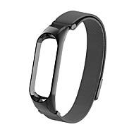 billige -urbånd til mi bånd 3 / xiaomi mi bånd 4 xiaomi smykkedesign rustfrit stål armbånd