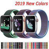 billiga -nylonrem för apple watch band 44mm 40mm 42mm 38mm sport loop belt armband för apple watch serie 5/4/3/2/1 tillbehör
