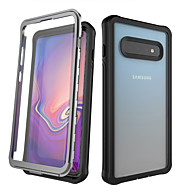 cheap -Case For Samsung Galaxy Galaxy S10 / Galaxy S10 Plus / Galaxy Note 10 Shockproof / Dustproof / Water Resistant Full Body Cases Transparent PC