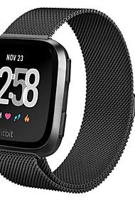 levne -Watch kapela pro Fitbit Versa Fitbit Milánská smyčka Ocel Poutko na zápěstí