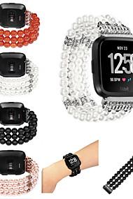 levne -Watch kapela pro Fitbit Versa Fitbit Sportovní značka Nylon Poutko na zápěstí