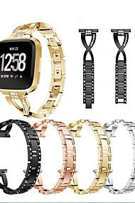 levne -Watch kapela pro Fitbit Versa Fitbit Sportovní značka Nerez Poutko na zápěstí