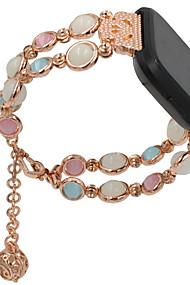 tanie -Watch Band na Fitbit Versa Fitbit Design biżuterii Metal Opaska na nadgarstek