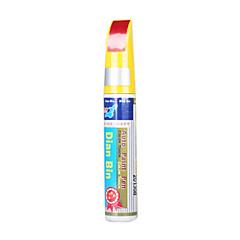 abordables Plumas de Retoque-pintura de coches de lápiz de automóviles arañazos zurcido toque-Up color táctil para chevrolet-bordeaux rojo