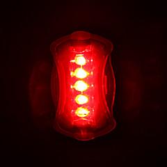 tanie -Światła rowerowe Tylna lampka rowerowa LED Kolarstwo LED Light AAA Lumenów Bateria Kolarstwo
