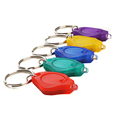 cheap -Sport Style Key Chain Flashlights Mini Plastic for Cell Batteries CR2016