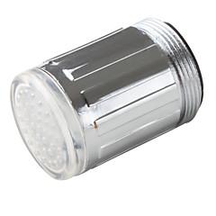 キッチン用水圧セルフパワー蛇口用LEDライト(クロム仕上げプラスチック)