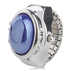 お買い得  レディース腕時計-女性用 リングウォッチ 日本産 カジュアルウォッチ 合金 バンド パール / ファッション シルバー / 1年間 / SSUO SR626SW