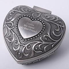 voordelige Sieradenverpakking & Display-gepersonaliseerde vintage tutania hart ontwerp sieraden doos elegante stijl