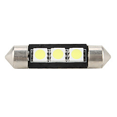 39mm 5050 SMD LED 5500K White Light Bulb for Car High Quality