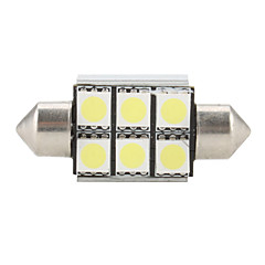 36mm 6 SMD Super White 5500K LED Light Bulb High Quality LED Bulbs