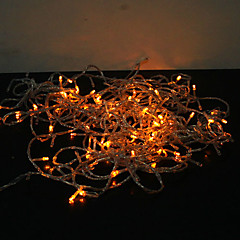 olcso LED szalagfények-18m 180-vezette színes világítás 8 szikrázó módok tündér string fény (220v)