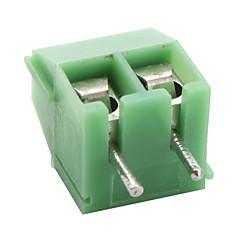 De 3,5 mm a 2 puntos los bloques de terminales (50 piezas por paquete)