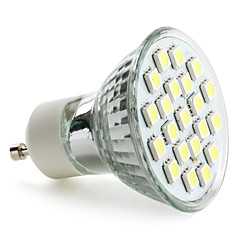 economico Lampadine LED-3W 6000 lm GU10 Faretti LED MR16 21 leds SMD 5050 Bianco CA 220-240 V