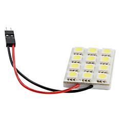 preiswerte LED Autobirnen-5050 SMD LED 1,44 W 16-228lm weißes Licht Auto Birne (DC 12V)