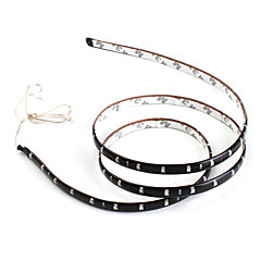90cm 45x1210 SMD Blue LED Strip Light for Car (DC 12V)
