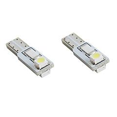 preiswerte Autozubehör-t5 2 * 1210 weiße LED Auto Signalleuchten (2-Pack, DC 12V)