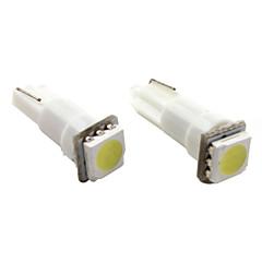 preiswerte Autozubehör-t5 1 * 5050 SMD weiß LED KFZ-Signalleuchte