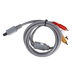 S-Video AV Cable for Wii/Wii U (Gray)