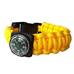 お買い得  防災&サバイバル用品-コンパス救命ブレスレット