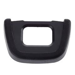 DK-23 Copa ocular de caucho del ocular para Nikon D300 D300S (Negro)