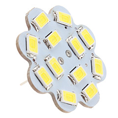 cheap LED Bulbs-1.5W 6000lm G4 LED Ceiling Lights 12 LED Beads SMD 5630 Natural White 12V