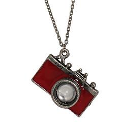 preiswerte Halsketten-Herrn Anhängerketten - Kamera Schwarz, Rot Modische Halsketten Für Weihnachts Geschenke, Alltag