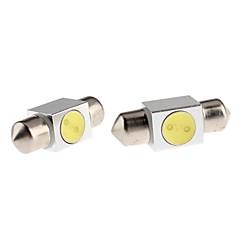 voordelige Autobinnenverlichting-31mm Automatisch Lampen W Krachtige LED 70-90lm lm LED Interior Lights ForUniverseel